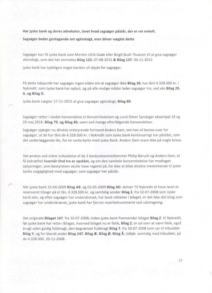 Main suspect in Danish bank fraud case Jyske BANK Anders Dam, Jyske Bank suspected of million scams and corruption. Philip Baruch Advokat og Partner I Lund Elmer Sandager Les.dk Thomas Schioldan Sørensen rodstenen.dk - Lundgrens advokater. Dan Terkildsen. Rødstenen advokater. bestyrelsen Jyske Bank Sven Buhrækall. Kurt Bligaard Pedersen. Rina Asmussen. Philip Baruch. Jens Borup. Keld Norup. Christina Lykke Munk. Johnny Christensen. Marianne Lillevang. Anders Christian Dam. Niels Erik Jakobsen. Per Skovhus. Peter Schleidt. #Bank #AnderChristianDam #Financial #News #Press #Share #Pol #Recommendation #Sale #Firesale #AndersDam #JyskeBank #ATP #PFA #MortenUlrikGade #GF Maresk #PhilipBaruch #LES #LundElmerSandager #Nykredit #MetteEgholmNielsen #Loan #Fraud #CasperDamOlsen #NicolaiHansen #JeanettKofoed-Hansen #AnetteKirkeby #SørenWoergaaed #BirgitBushThuesen #Gangcrimes #Crimes #Koncernledelse #jyskebank #Koncernbestyrelsen #SvenBuhrkall #KurtBligaardPedersen #RinaAsmussen #PhilipBaruch #JensABorup #KeldNorup #Ch